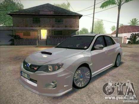 Subaru Impreza WRX STI 2011 Sedan pour GTA San Andreas