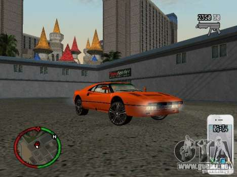 GTA IV HUD v1 by shama123 pour GTA San Andreas septième écran