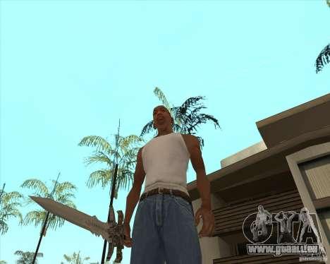 Frost morn pour GTA San Andreas troisième écran
