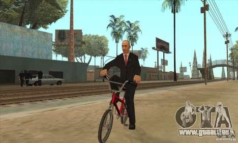Vladimir Vladimirovich Putin für GTA San Andreas her Screenshot