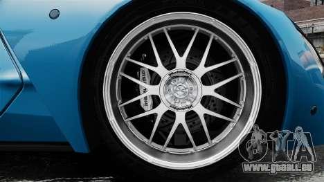 Marussia B2 für GTA 4 Rückansicht