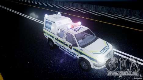 Nissan Frontier Essex Police Unit pour GTA 4 vue de dessus