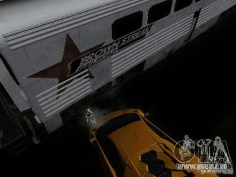 Crazy Trains MOD pour GTA San Andreas quatrième écran