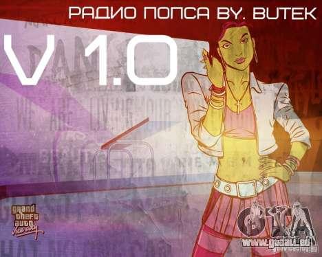 Radio Popsa von BuTeK für GTA Vice City