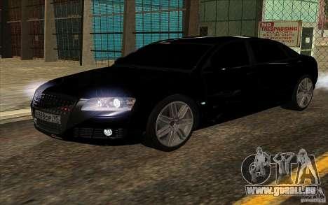 Audi A8l W12 6.0 pour GTA San Andreas