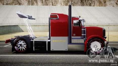 Peterbilt Sport Truck Custom pour GTA 4 est une gauche