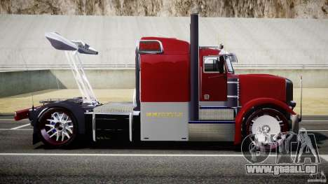 Peterbilt Sport Truck Custom für GTA 4 linke Ansicht