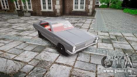 Ford Mercury Comet Caliente Sedan 1965 pour GTA 4 Vue arrière