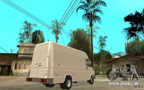 Iveco Turbo Daily für GTA San Andreas rechten Ansicht