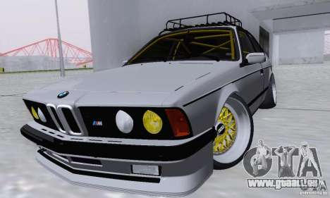 BMW M635CSi Stanced für GTA San Andreas