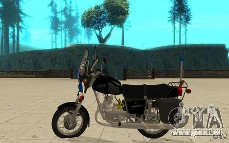 IZ Jupiter 5 DPS pour GTA San Andreas laissé vue