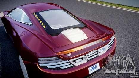 McLaren MP4-12C [EPM] für GTA 4 obere Ansicht