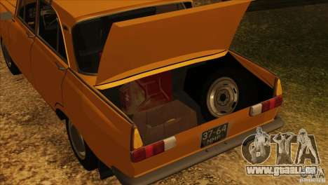 Moskvich 412 v2. 0 für GTA San Andreas Räder