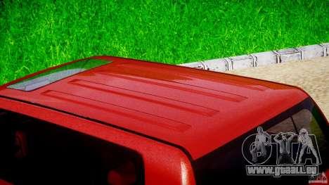 Toyota Land Cruiser 200 2007 für GTA 4 obere Ansicht