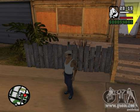 CJ Gopnik für GTA San Andreas her Screenshot