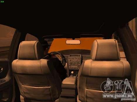 Lexus IS300 Taxi pour GTA San Andreas vue de côté