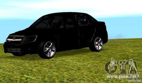 LADA Granta v2. 0 für GTA San Andreas obere Ansicht