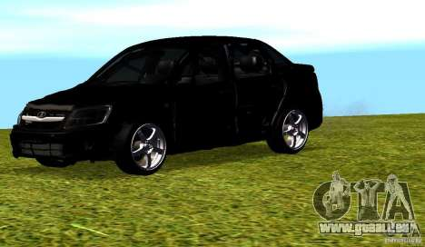 LADA Granta v2.0 pour GTA San Andreas vue de dessus