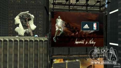 Time Square Mod pour GTA 4 troisième écran
