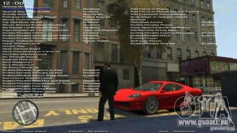 Formateur simple Version 6.3 pour 1.0.6.0, 1.0.7 pour GTA 4 sixième écran
