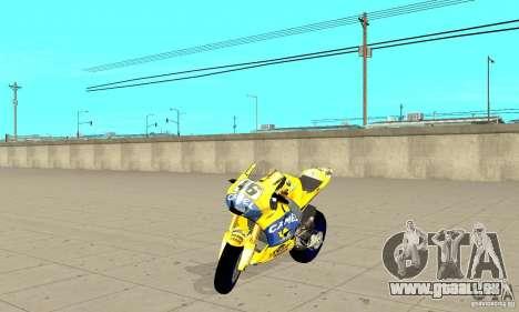 Honda Valentino Rossi Bf400 pour GTA San Andreas