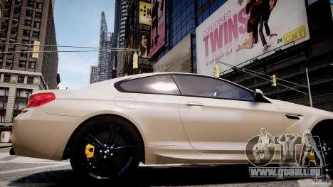 BMW M6 2013 pour GTA 4 Vue arrière