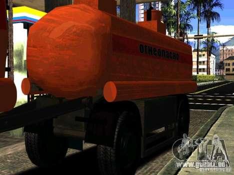 MAZ 533702 LKW für GTA San Andreas Seitenansicht