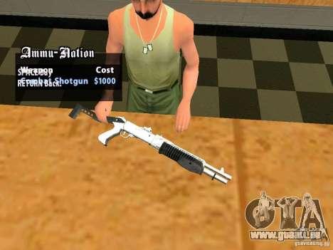 TeK Weapon Pack für GTA San Andreas elften Screenshot