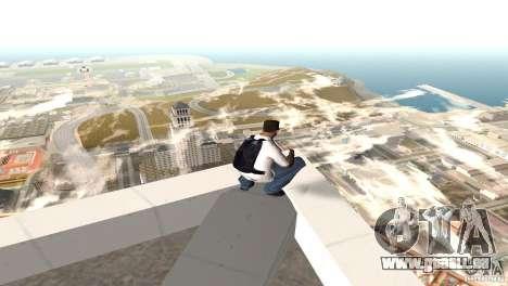 Parašut bleu pour GTA San Andreas deuxième écran
