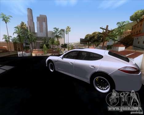 Porsche Panamera 970 Hamann für GTA San Andreas linke Ansicht