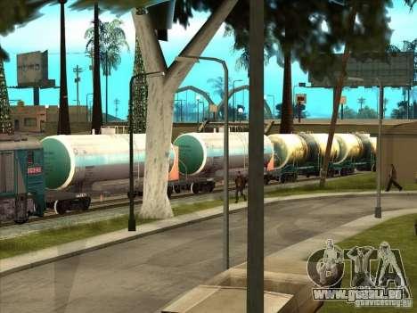 Tank # 57929572 für GTA San Andreas zurück linke Ansicht