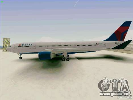 Airbus A330-200 pour GTA San Andreas laissé vue