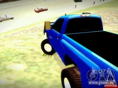 Chevrolet Silverado OFFRoad pour GTA San Andreas laissé vue