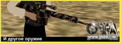 Tiger Weapon Pack für GTA San Andreas dritten Screenshot