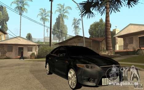 Ford Mondeo 2009 pour GTA San Andreas vue arrière
