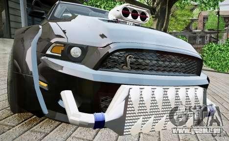 Ford Shelby GT500 pour GTA 4 est un droit