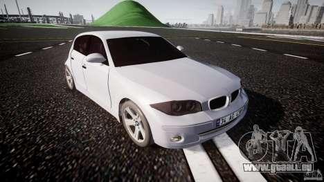 BMW 118i für GTA 4 Innenansicht