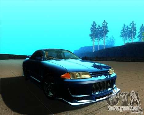 Nissan Skyline GT-R R32 1993 Tunable pour GTA San Andreas roue
