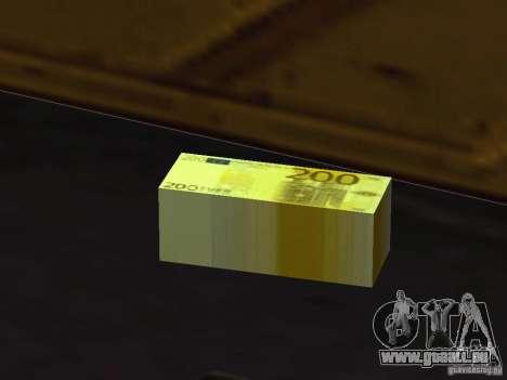 Euro money mod v 1.5 200 euros für GTA San Andreas