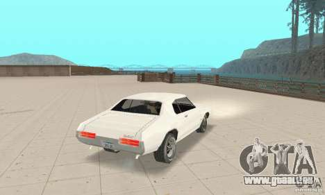 Pontiac GTO 1969 stock für GTA San Andreas linke Ansicht