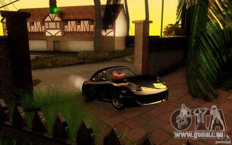 Ruf RK Coupe V1.0 2006 pour GTA San Andreas moteur