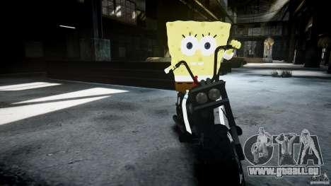 Bob l'éponge pour GTA 4 dixièmes d'écran