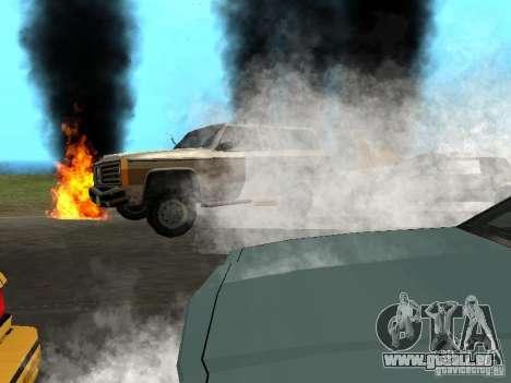 Nouveaux effets, fumée, etc.. pour GTA San Andreas