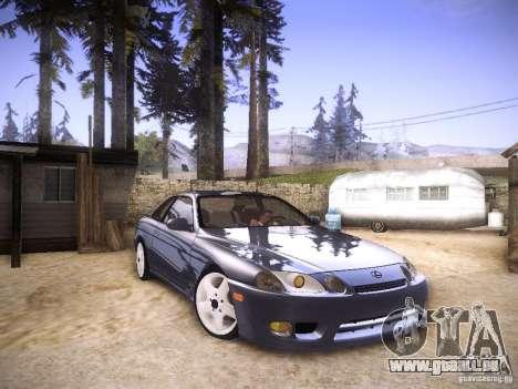 Lexus SC300 - Stock pour GTA San Andreas vue de droite