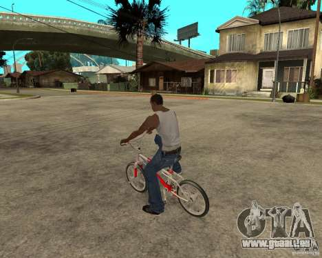 Skyway BMX pour GTA San Andreas laissé vue