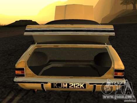 Ford Cortina MK 3 Life On Mars pour GTA San Andreas vue de droite