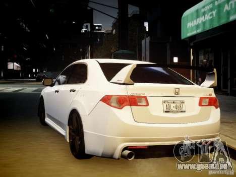 Honda Accord Mugen pour GTA 4 est une vue de l'intérieur
