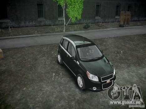 Chevrolet Aveo LT 2009 für GTA 4 Seitenansicht