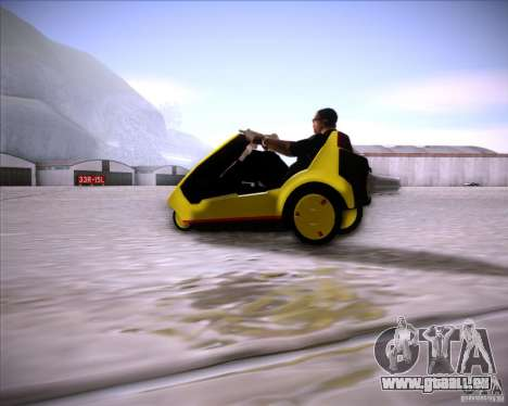 Sinclair C5 pour GTA San Andreas