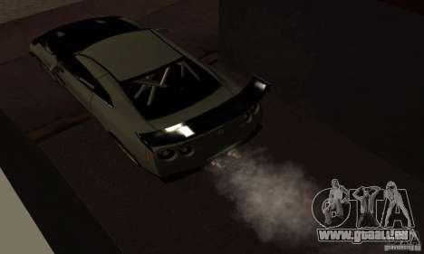 Nissan GTR R35 Tuning pour GTA San Andreas vue de droite